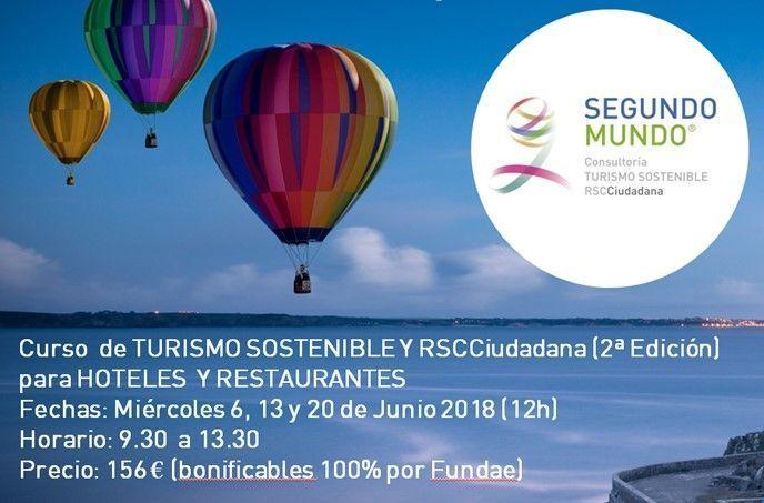 Curso Turismo Sostenible y RSCCiudadana para Hotel y Restaurante (2ª edición)