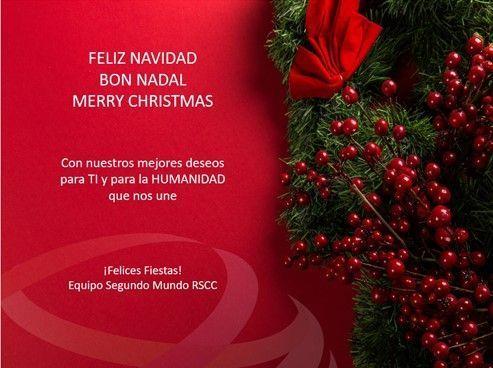 Feliz Navidad · Bon Nadal · Merry Christmas