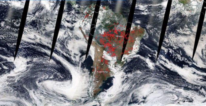 Amazonía incendio Segundo Mundo RSCC