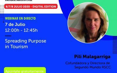 ¡Vuelve! SPREADING PURPOSE IN TOURISM en JOBarcelona Ahora en versión digital