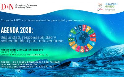 Apúntate al Curso Agenda 2030: Seguridad, Responsabilidad y Sostenibilidad para Reinventarse