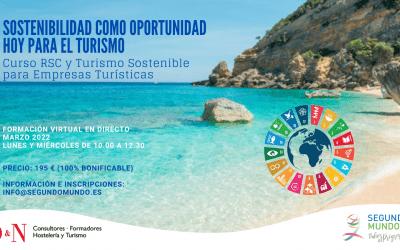 Sostenibilidad como Oportunidad Hoy para el Turismo